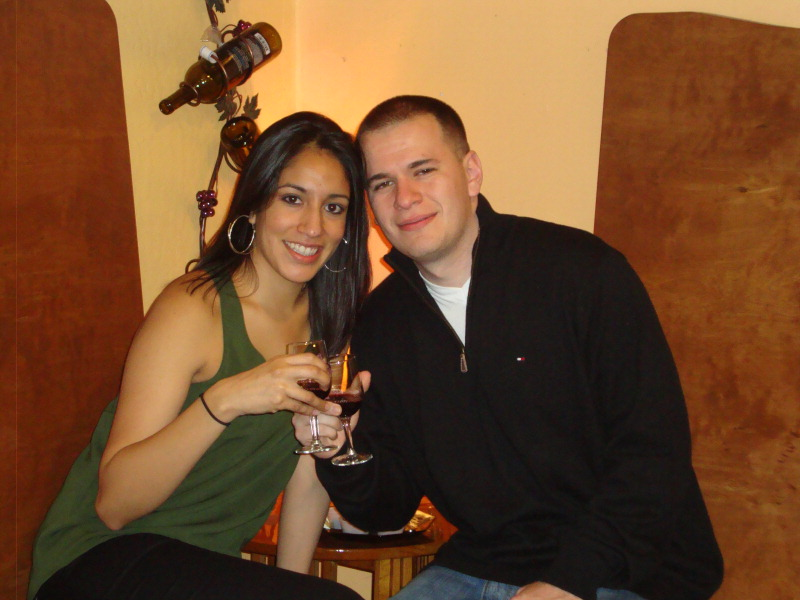 Christina Cuevas and Jose Arenas